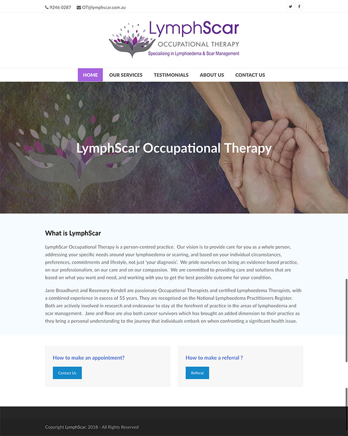 LymphScar Occupational Therapy
